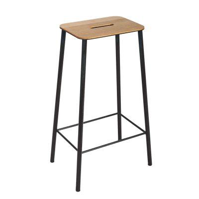 adam-stool-76-jakkara-tammimatta-musta