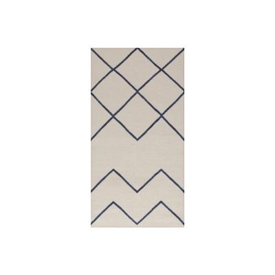 geometrie-01-matto-offwhitesininen