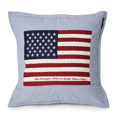 flag-arts-crafts-tyynynpaeaellinen-sininenvalkea