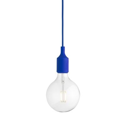 E27 valaisin LED sininen