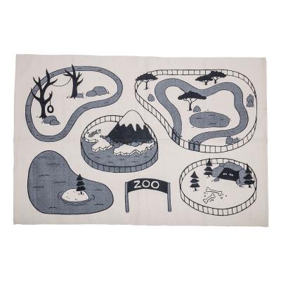 zoo-park-matto-100x155-harmaa