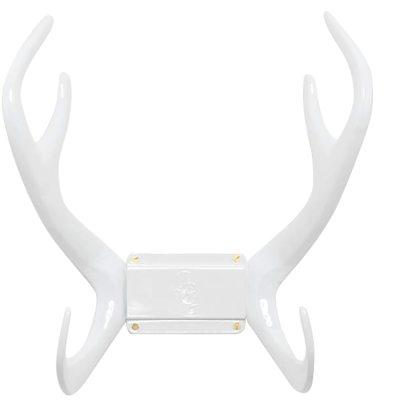 Delux Reindeer seinäkiinnike valkoinen
