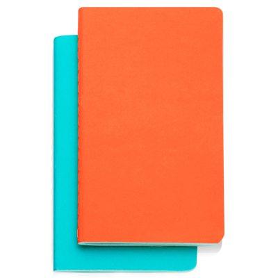 Study muistio 2-pakkaus sininen/oranssi