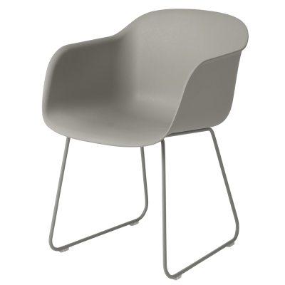 Fiber Sled tuoli harmaa