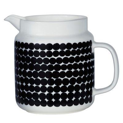 oiva-kannu-125l-mustavalkoinen
