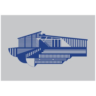 house-juliste-a4-sininen
