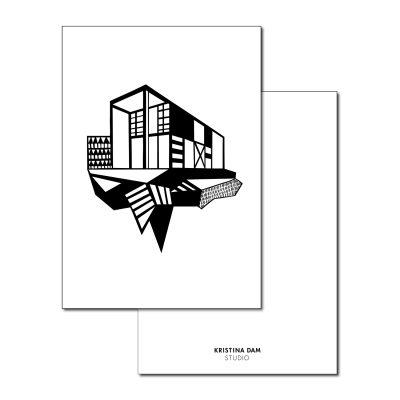 simpel-house-postikortti