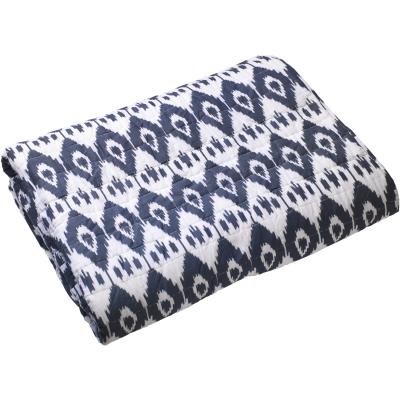 Ikat Jodhpur sängynpäällinen 160×260 sininen
