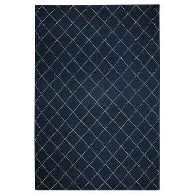 Diamond matto blue melange/offwhite