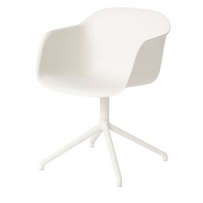 fiber-swiwel-tuoli-valkoinen