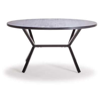 Loft sohvapöytä ø90 cm musta