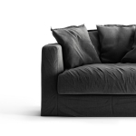 Le Grand Air Loveseat verhoilu, Carbon Dust