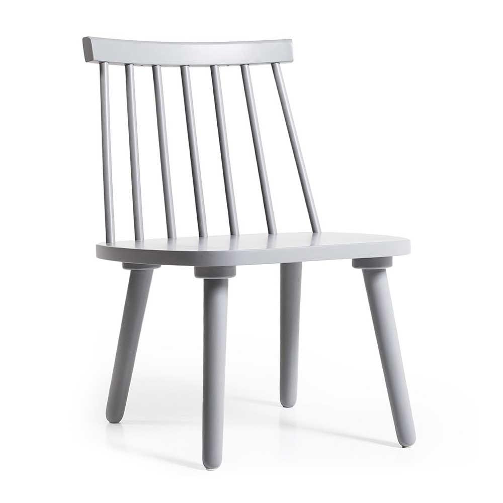 Wood H19 Lounge tuoli, Harmaa