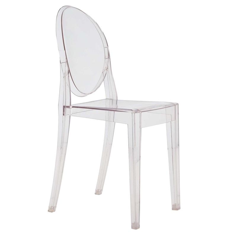 Kartell Lou Lou Ghost tuoli kirkas